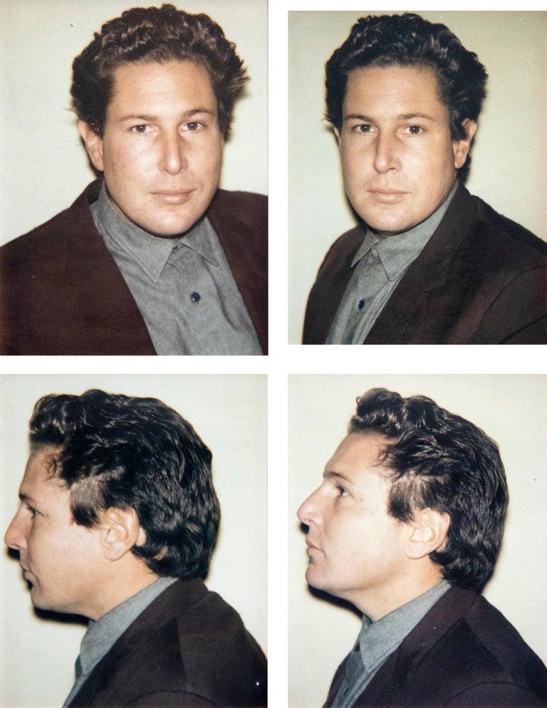 Andy Warhol Color Photograph - Julian Schnabel 4 Polaroids