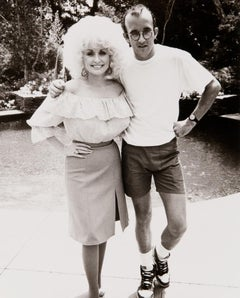 Keith Haring and Dolly Parton