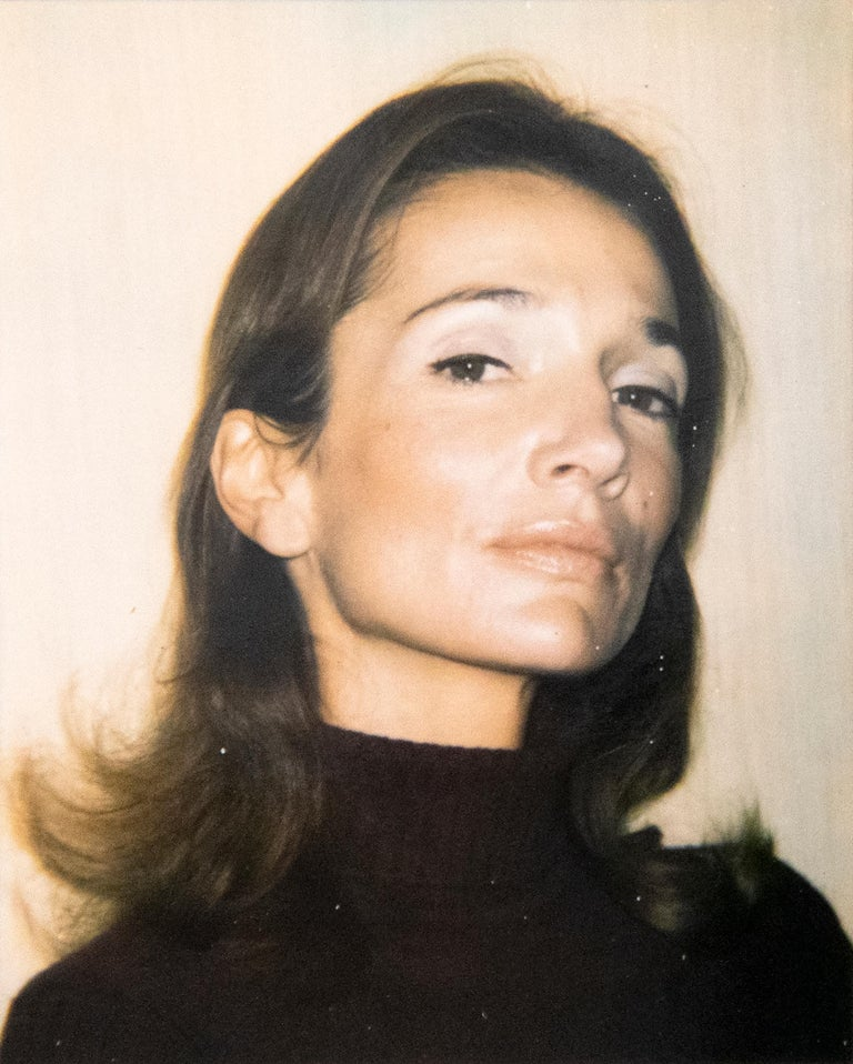 Lee Radziwill - Beige Color Photograph by Andy Warhol