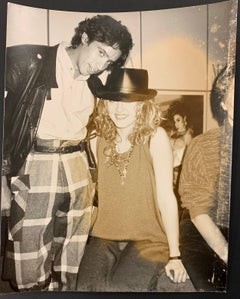 "Madonna and John ""Jellybean"" Benitez"
