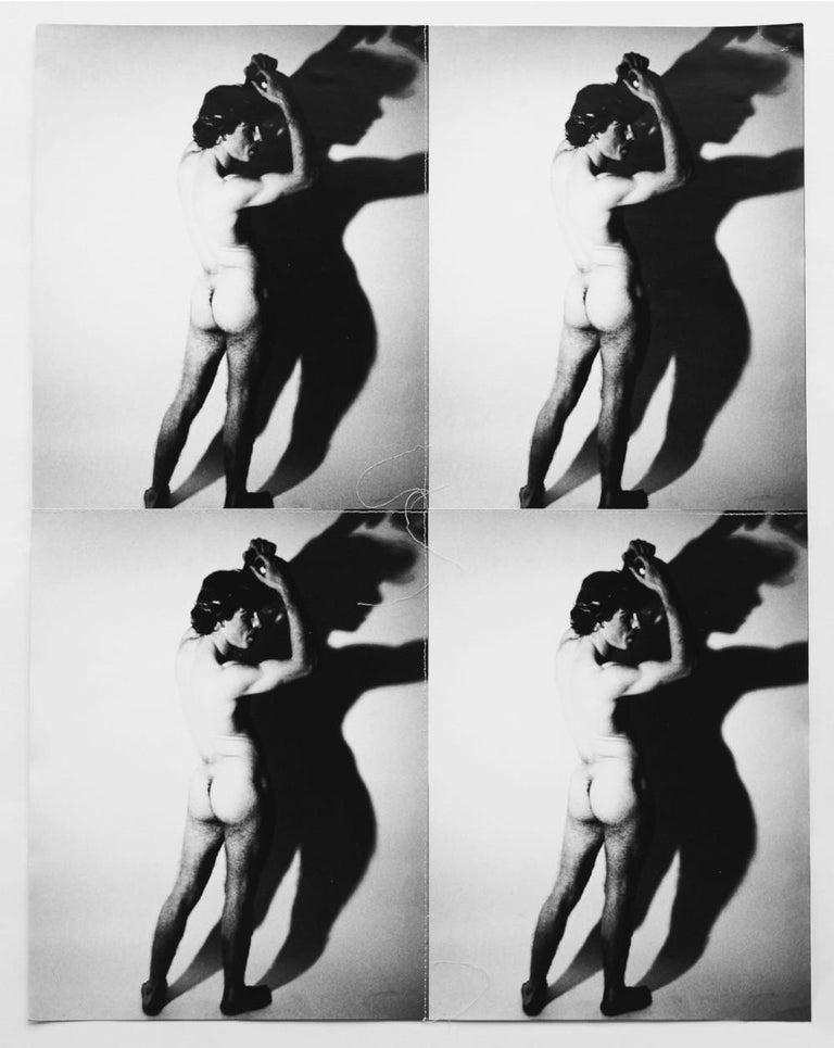 Andy Warhol Nude Photograph - Male Nude