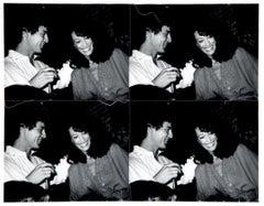 Marisa Berenson and Young Man