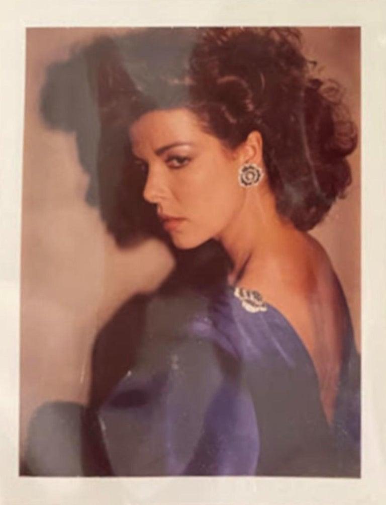 Andy Warhol Portrait Photograph - Princess Caroline of Monaco