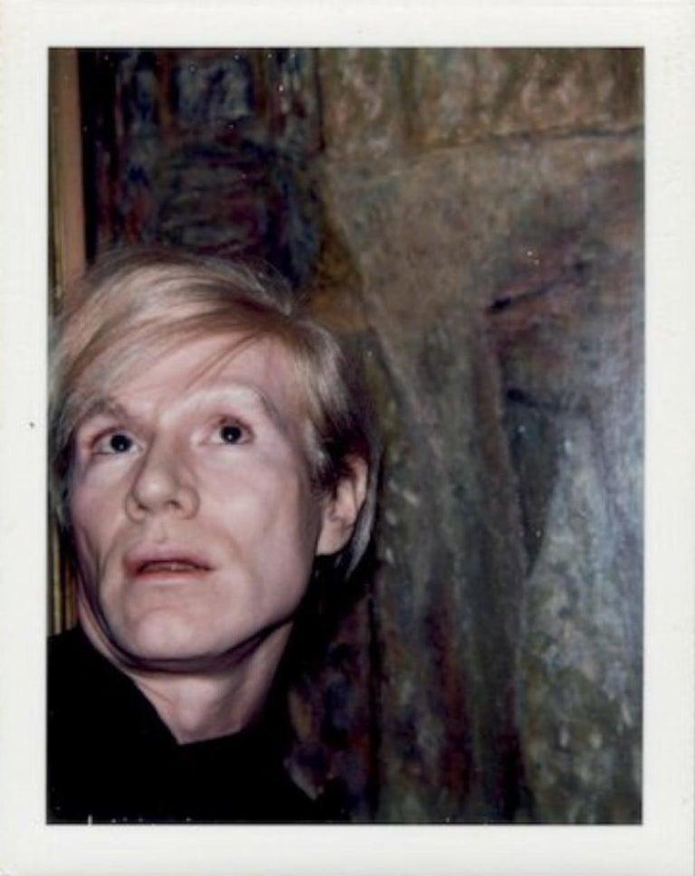 Andy Warhol Portrait Photograph - Self-Portrait