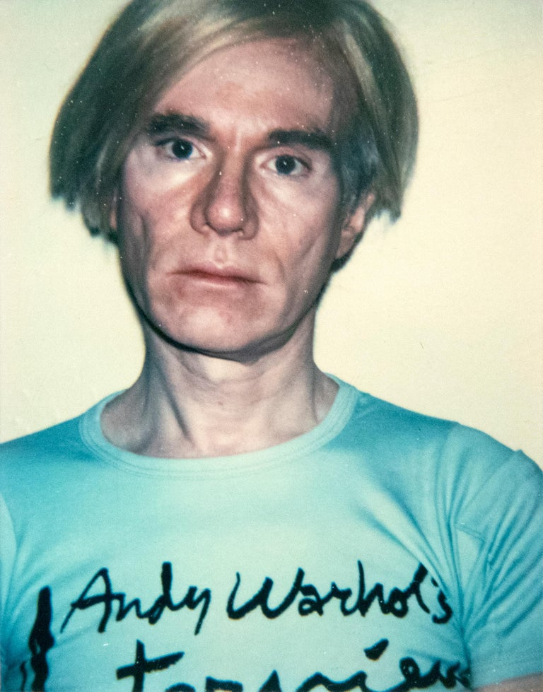 Andy Warhol Color Photograph - Self Portrait