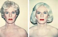 Self-Portrait in a Platinum Wig; Self-Portrait in a Platinum Pageboy Wig