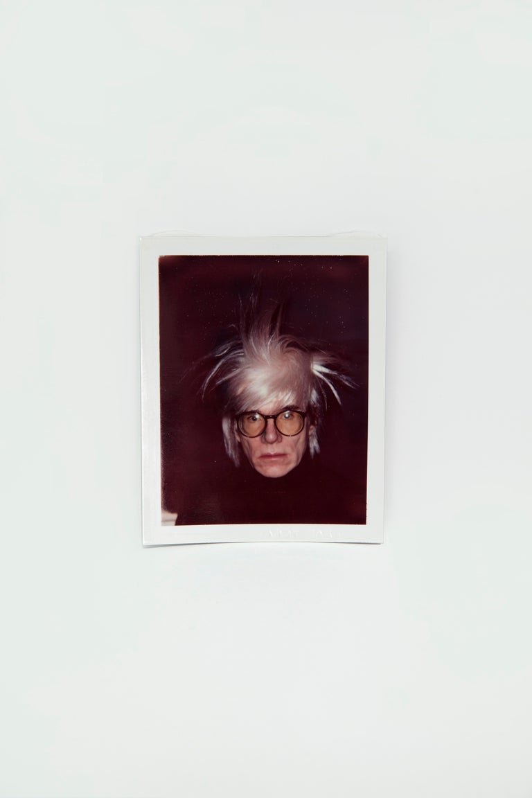 Andy Warhol Portrait Photograph - Self-Portrait in Fright Wig