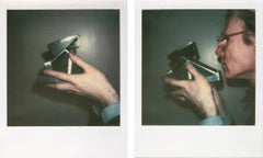 Self-Portrait with Camera (diptych)