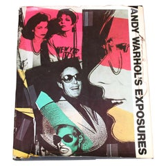 "Signed ""Andy Warhol's Exposures"" Collection of Photographs"