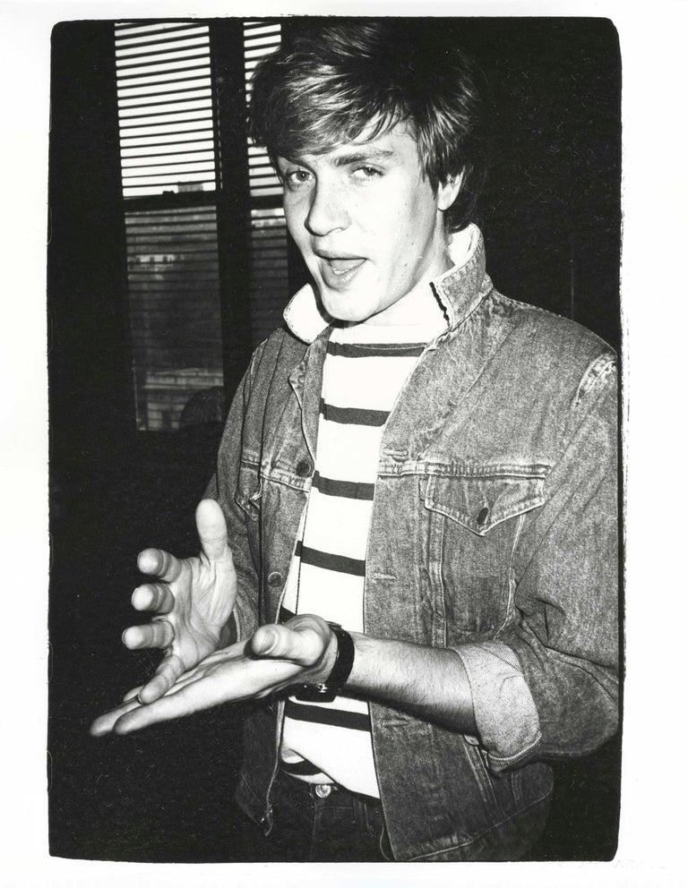 Simon Le Bon - Photograph by Andy Warhol