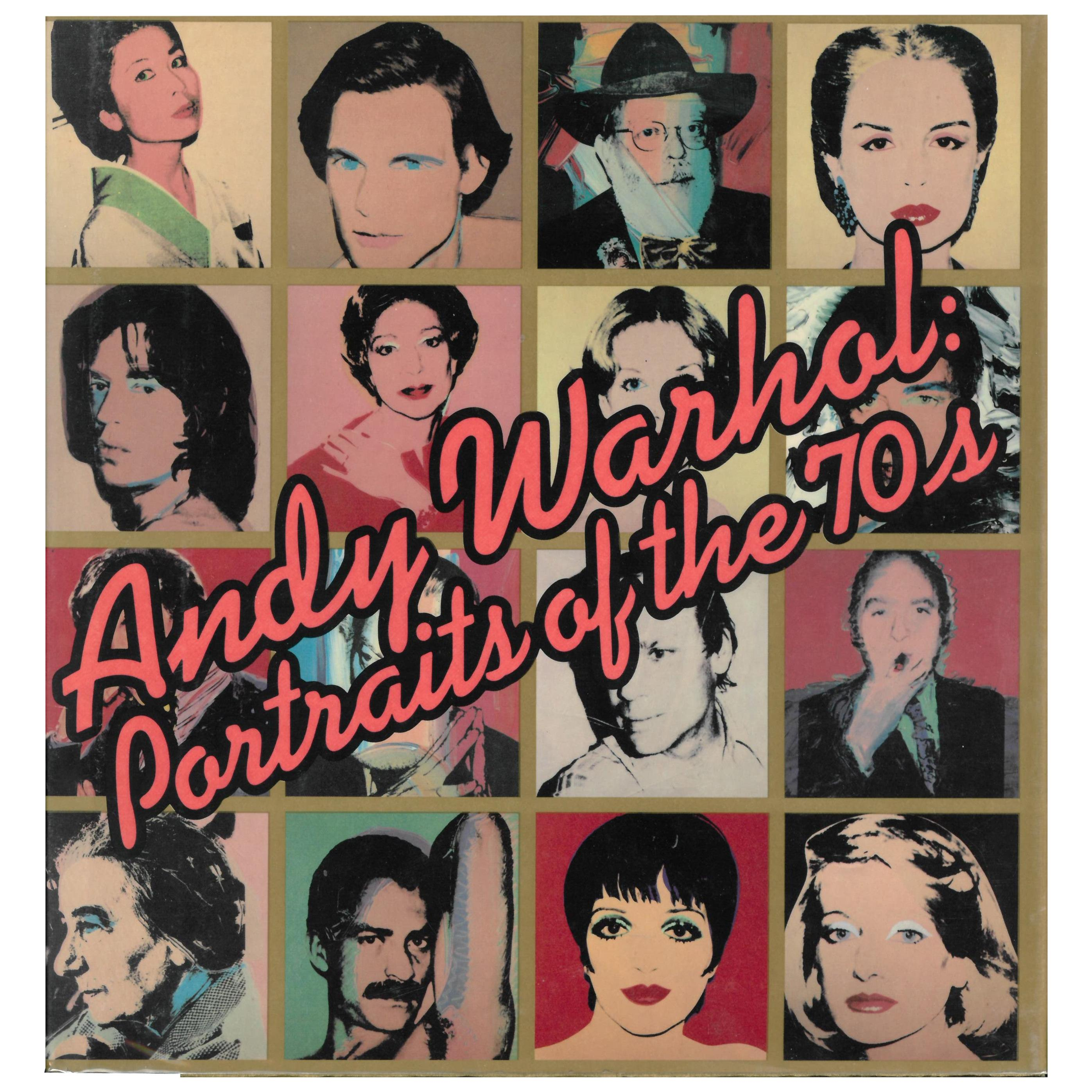 Andy Warhol, Portraits of the 1970s 'Book'