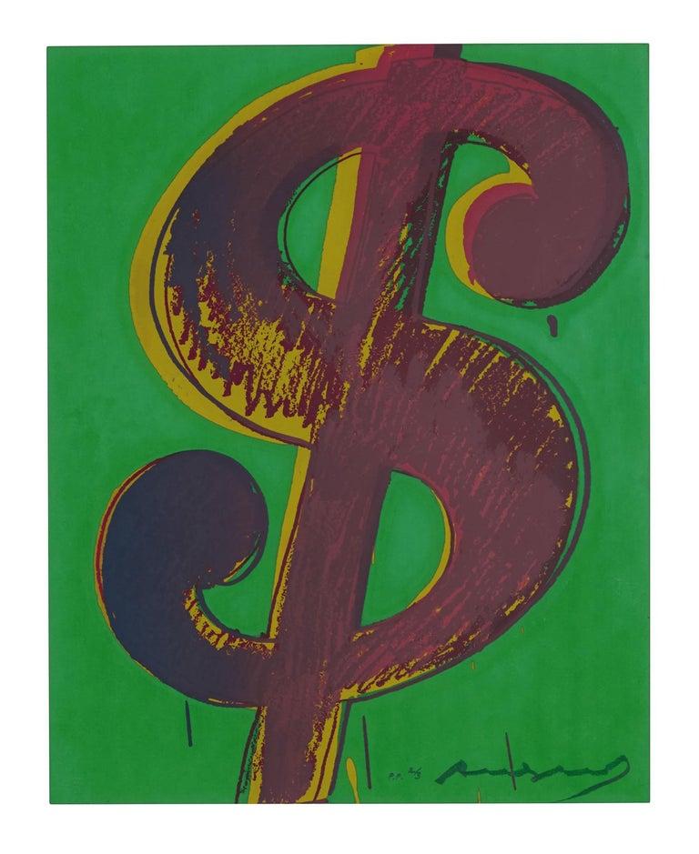 Andy Warhol Figurative Print - $ (1)  F&S II.279