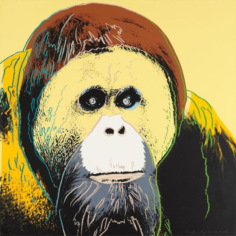 Orangutan, Andy Warhol - Print by Andy Warhol