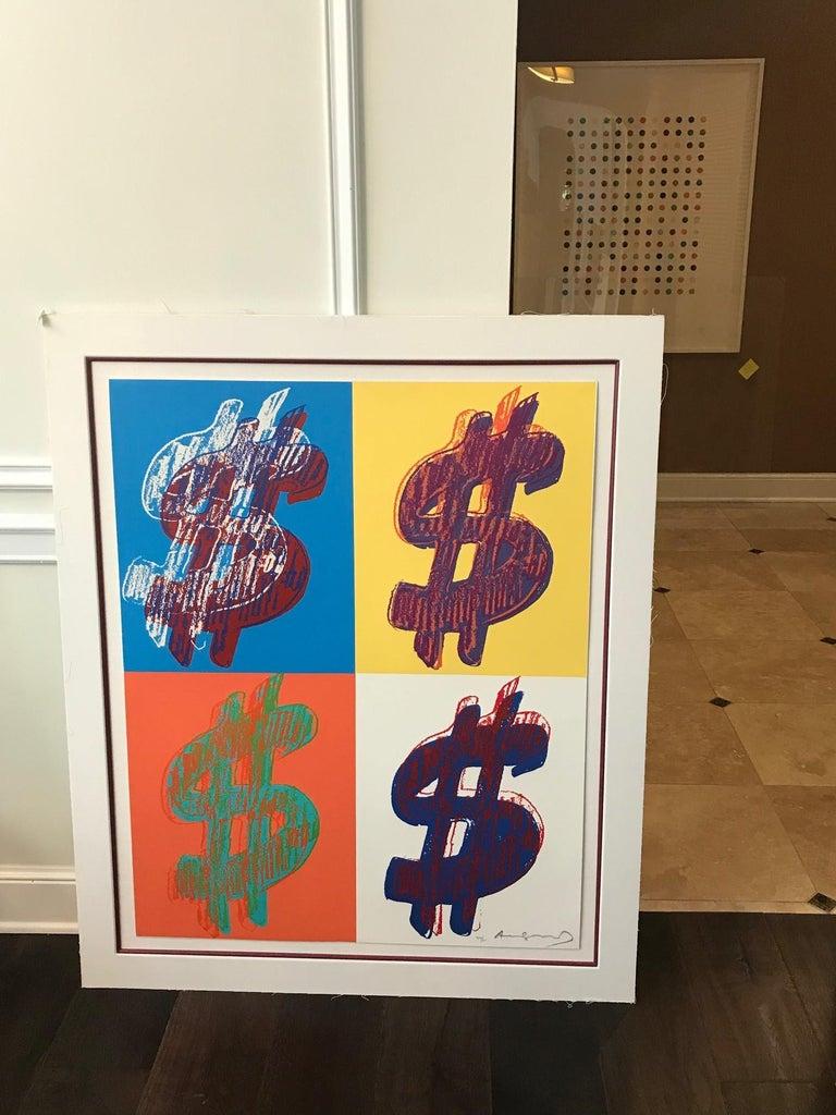 $ (Quadrant) F&S II.284 - Print by Andy Warhol
