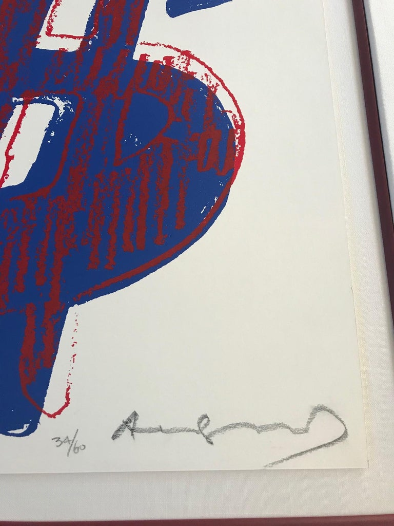 $ (Quadrant) F&S II.284 - Contemporary Print by Andy Warhol