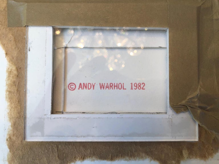 Signed and numbered in pencil lower right. Published by Andy Warhol, New York. Printed by Rupert Jasen Smith, New York. Andy Warhol Prints Catalogue Raisonne 1962-1987 Feldman/Schellmann Fourth Edition F&S II.284.