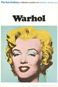 1971 After Andy Warhol 'Marilyn' Pop Art Multicolor,Yellow United Kingdom