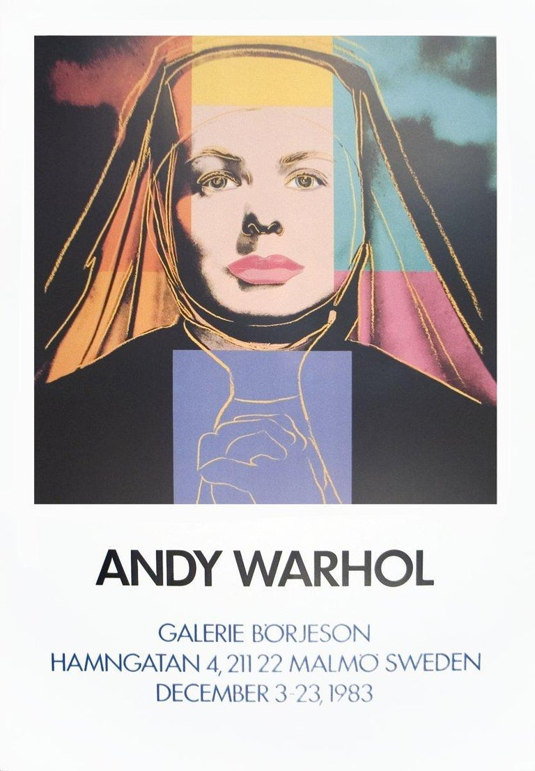 1983 After Andy Warhol 'Ingrid The Nun' Pop Art Multicolor - Print by Andy Warhol