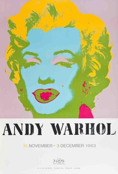 1983 Andy Warhol 'Marilyn Monroe' Pop Art Multicolor USA Serigraph