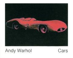 1989 After Andy Warhol 'Formula 1 Car (1954)' Pop Art Pink,Black Germany