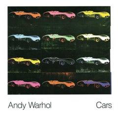 1989 Andy Warhol 'Formula 1 Car W 196 R (1954)' Pop Art Multicolor,Black,Pink,Or