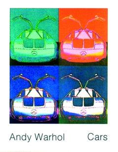 1989 Andy Warhol 'Mercedes Benz C111 (1970)' Pop Art Multicolor,Blue,Green,Orang