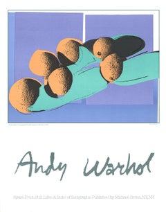 1990 After Andy Warhol 'Cantaloupes I' Pop Art Lithograph