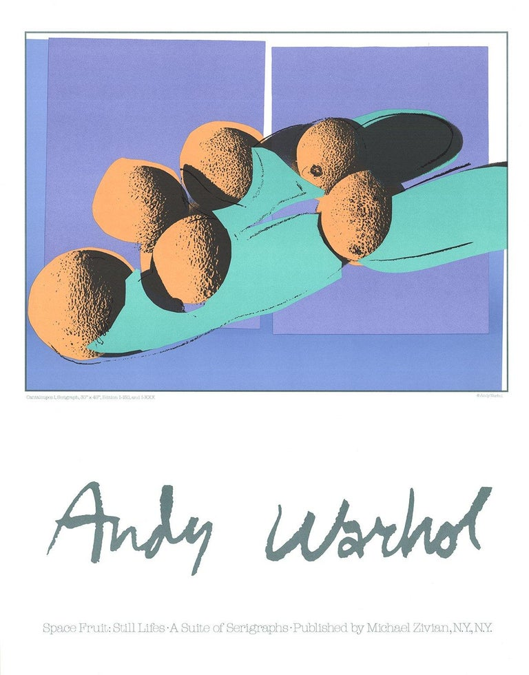 1990 After Andy Warhol 'Cantaloupes I' Pop Art Lithograph - Print by Andy Warhol