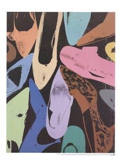 1999 After Andy Warhol 'Diamond Dust Shoes' Pop Art Multicolor Germany Offset