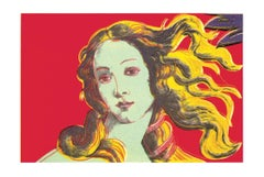 2000 After Andy Warhol 'Birth of Venus-Red' Pop Art Multicolor Germany