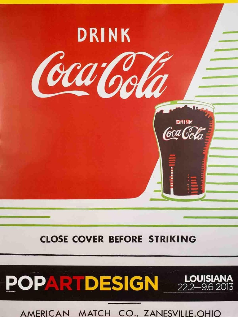 2013 Andy Warhol 'Close Cover Before Striking' Pop Art Multicolor,Red Denmark Of - Print by Andy Warhol