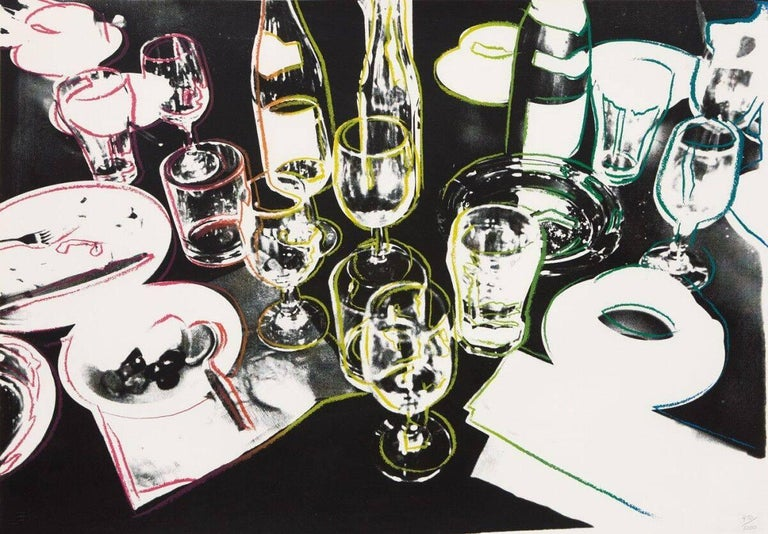 Andy Warhol Still-Life Print - After The Party (FS II.183)
