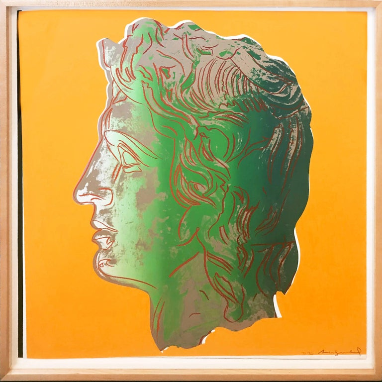 ALEXANDER THE GREAT FS II.291 - Print by Andy Warhol