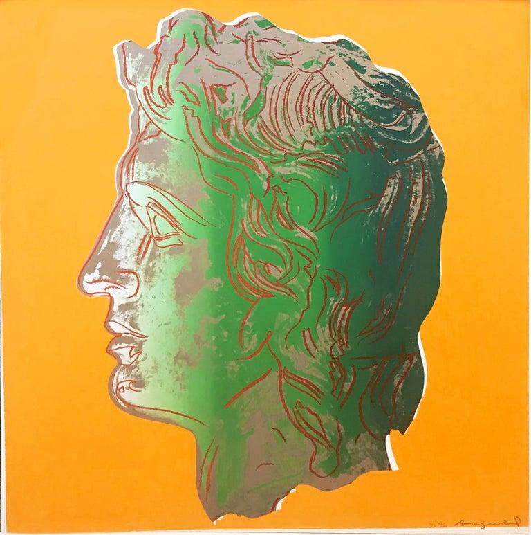 Andy Warhol Figurative Print - ALEXANDER THE GREAT FS II.291