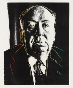 Alfred Hitchcock, by Andy Warhol