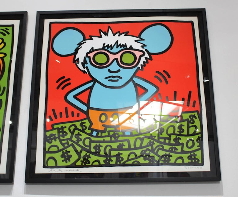 Andy Mouse (Dollar Bills)  - Pop Art Print by Andy Warhol