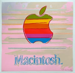Andy Warhol 'Apple (from Ads)' 1985 Print