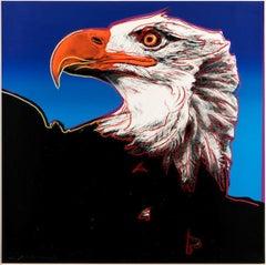 Andy Warhol 'Bald Eagle' 1983 Screenprint