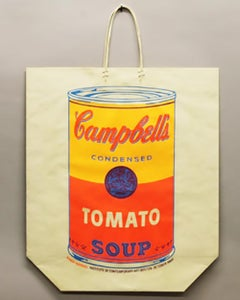 Andy Warhol, Campbell's Soup Can on a Shopping Bag, 1966 Silkscreen