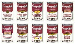Andy Warhol 'Campbell's Soup II' (complete set of 10) 1969 Print