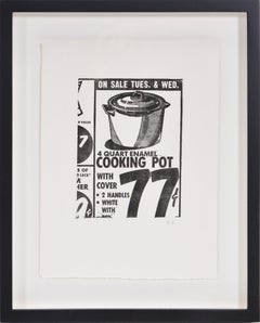 Andy Warhol, Cooking Pot,  etching, 1962