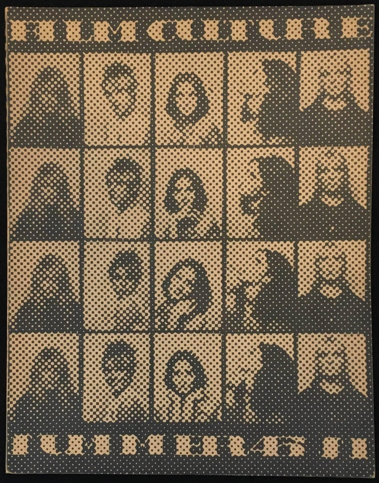 Andy Warhol, Film Culture 1967: Film Culture magazine, 1967. First edition. Featuring imagery and cover design by Andy Warhol. A rare 1967 issue devoted to Warhol films.  Warhol designed the cover using portraits taken in a photo booth for the cover