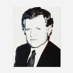 Andy Warhol 'Edward Kennedy' 1980 Screenprint