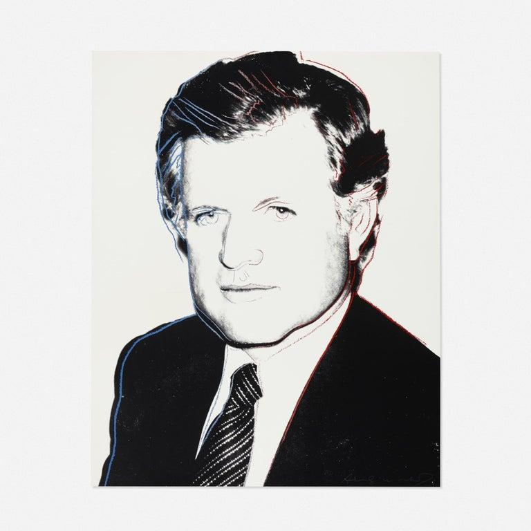 Andy Warhol 'Edward Kennedy' 1980 Screenprint  - Print by Andy Warhol