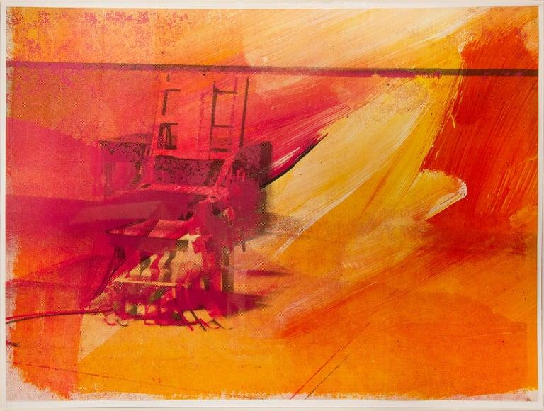 Andy Warhol, Electric Chair, 1971, Silkscreen - Print by Andy Warhol