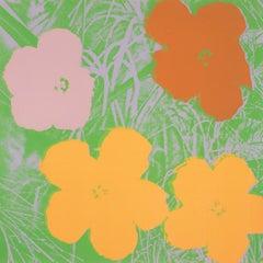 Andy Warhol 'Flowers (F. & S. 65)' Screenprint 1970