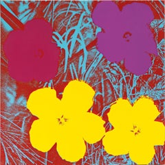 Andy Warhol 'Flowers' Serigraph 1970