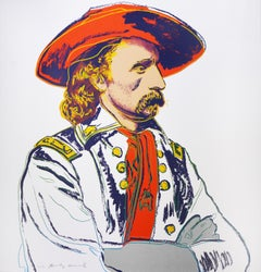 Andy Warhol, General Custer, Silkscreen, 1986