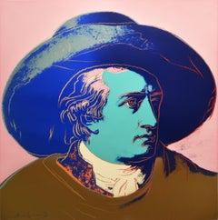 Andy Warhol, Goethe (F. & S. II.270), 1982