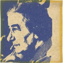 Andy Warhol - Golda Meir, silkscreen 1973 for the Israel Museum New York